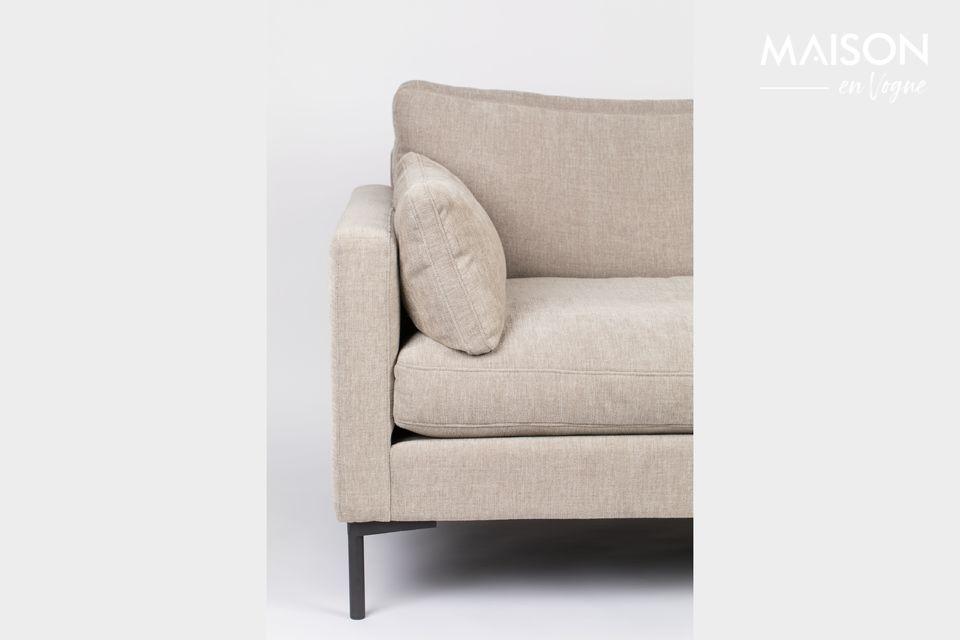 3-Sitzer Sofa Summer latte - 6
