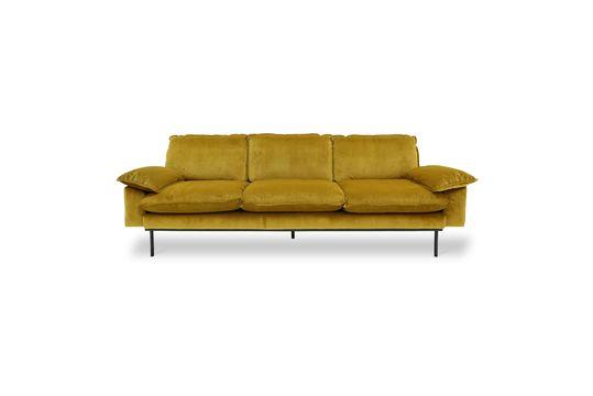 4-sitzer Retro-Sofa Vez ockerfarben
