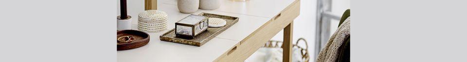 Materialbeschreibung Aufbewahrungsbox Barcus mit Deckel