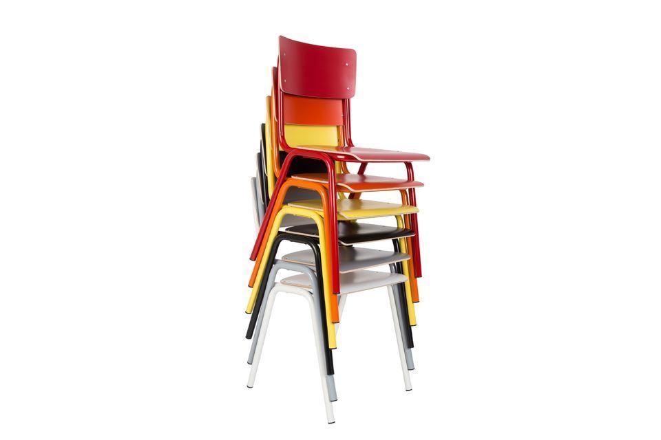 Rücken und Sitz aus Sperrholz