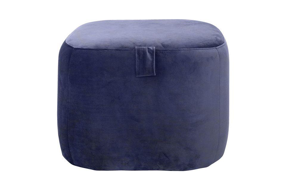 Ein Fußschemel zur Dekoration oder ein zusätzlicher Sitz