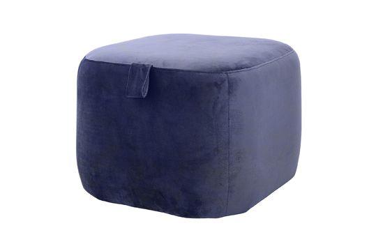 Blauer Pouf Bella