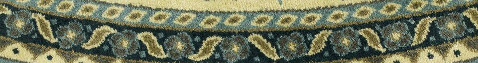 Materialbeschreibung Bodega Teppich grün 175 cm
