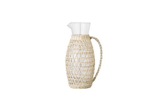 Daphne-Krug aus transparentem Glas