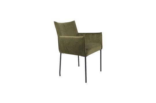 Dion-Sessel aus olivgrünem Samt ohne jede Grenze