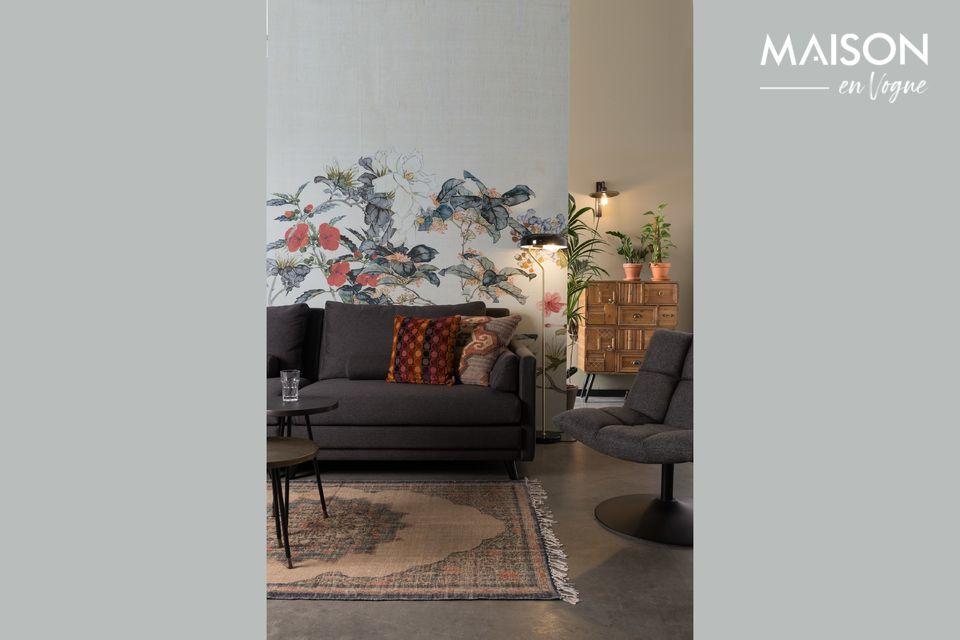 Graues Sofa 3,5-Sitzer eleganteste