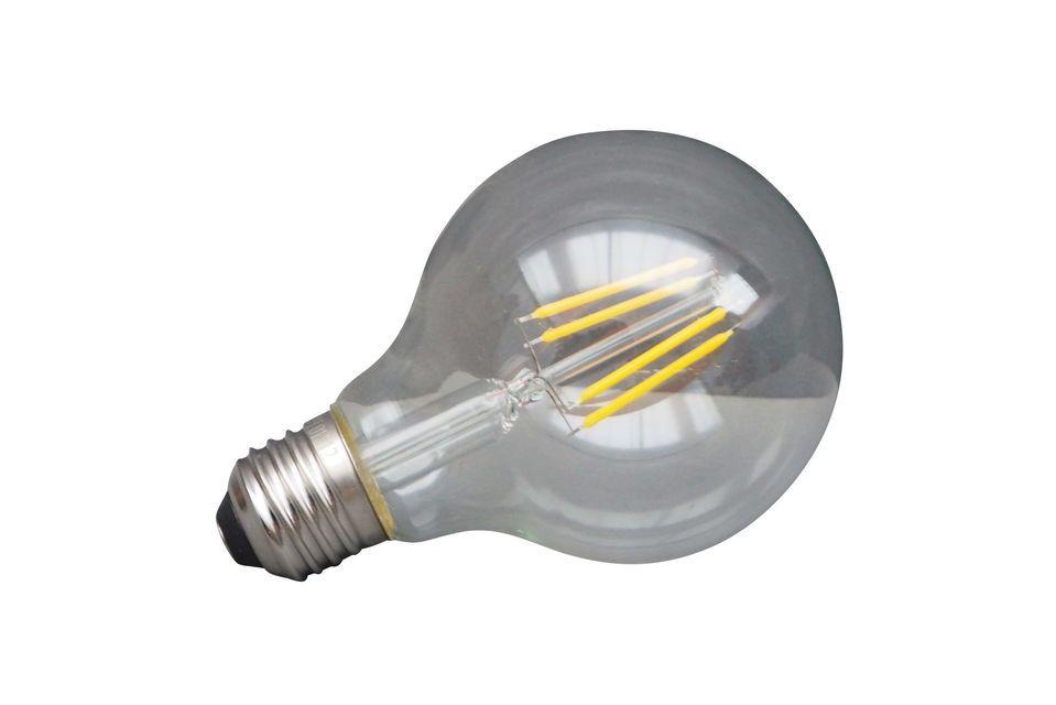 Eine LED-Glühbirne für Energieeinsparungen... und für den Planeten..