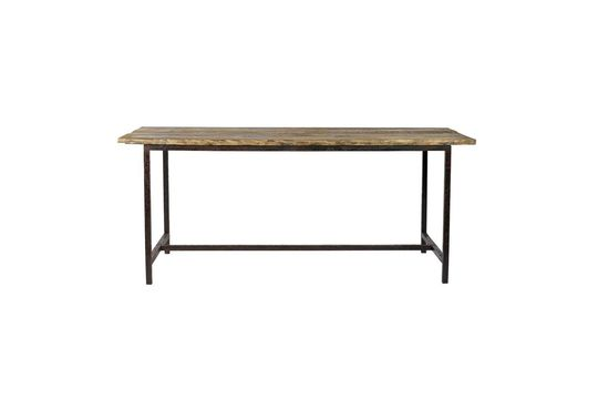 Esstisch Rough aus Holz und Metall
