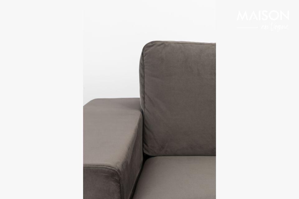 Eine Couch, die Ruhe in den Haushalt bringen soll