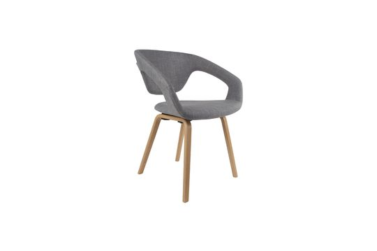 Flexback-Sessel Naturgrau