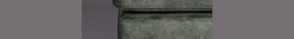 Materialbeschreibung Fußstütze Houda waldfarben