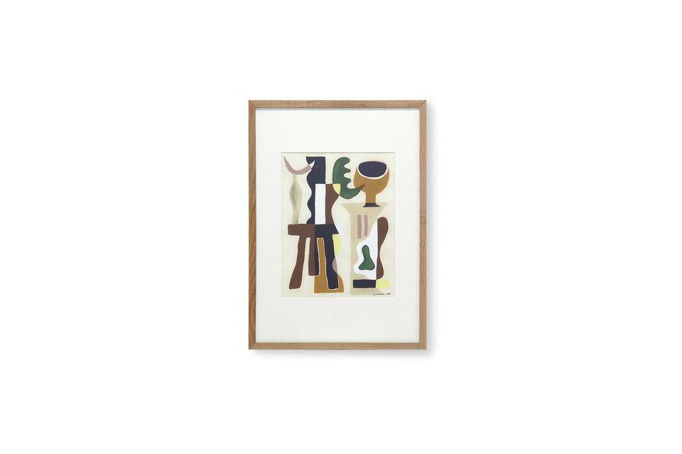 Dieses vom französischen Künstler Garance Valleé geschaffene Gemälde veranschaulicht seine