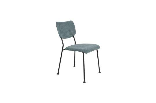 Grau-blauer Benson-Stuhl