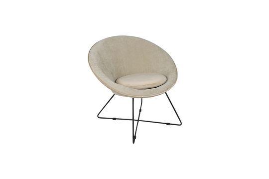 Grauweißer Garbo Sessel