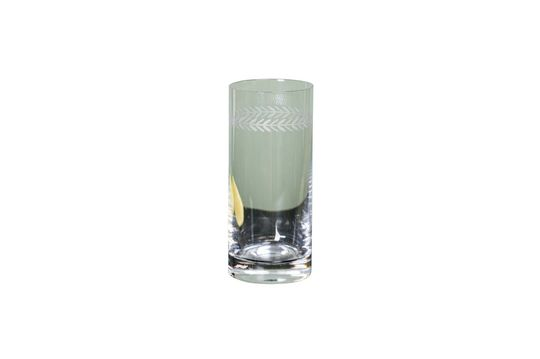 Graviertes Laurier Long Drink Glas
