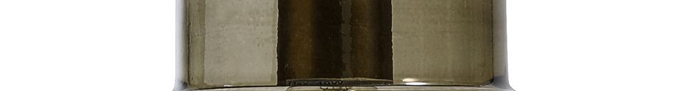 Materialbeschreibung Hängeleuchte aus mattem Glas Cambes