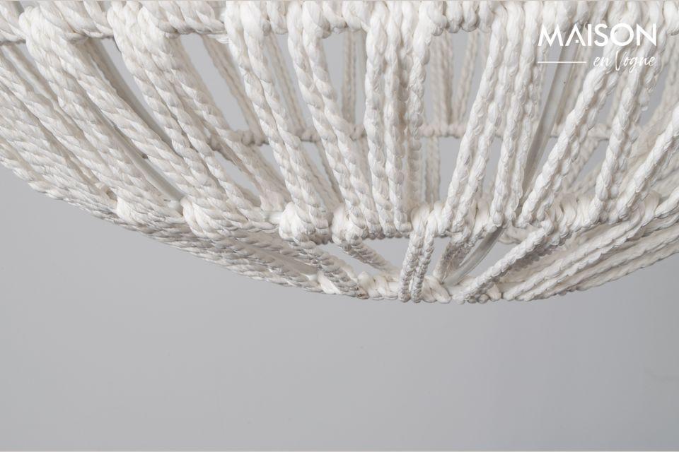 Hängeleuchte Cable drop weiß - 6