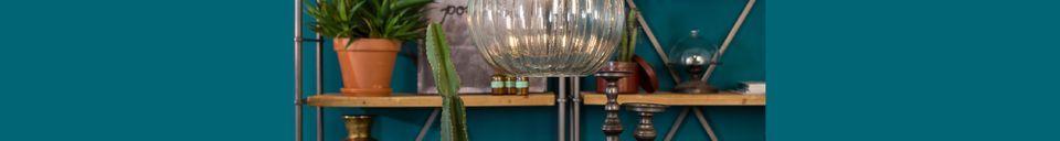Materialbeschreibung Hängeleuchte Drop Glass