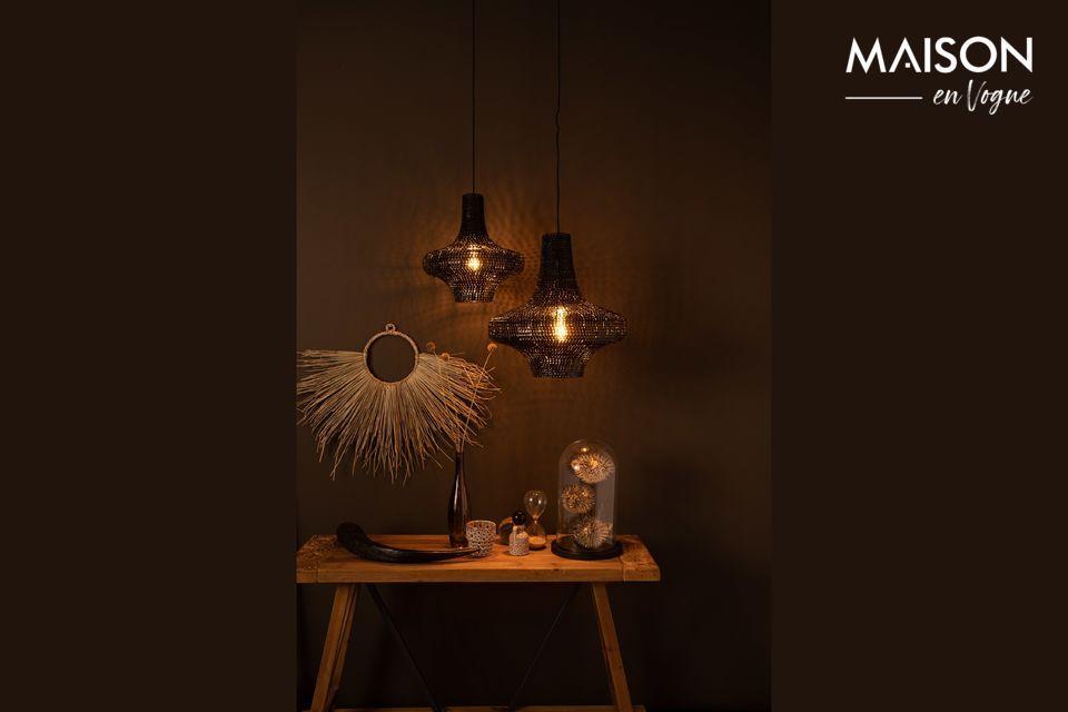Original zeitgenössische Lampe