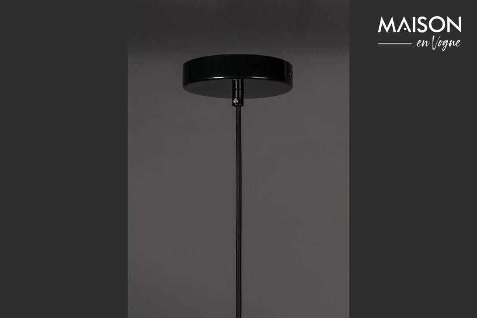 Ein echter Erfolg mit dieser schwarzen Lampe