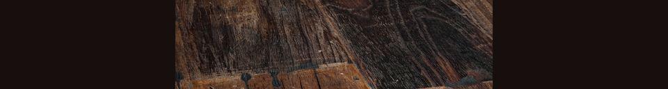 Materialbeschreibung Holztisch Crude