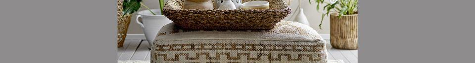 Materialbeschreibung Jarsy Laterne Terrakotta Weiß