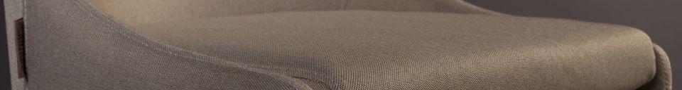Materialbeschreibung Juju Stuhl in khaki