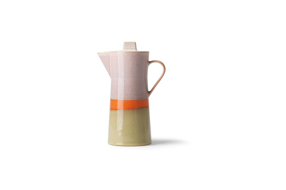 Eine Kaffeekanne im Vintage-Look