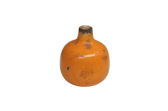 Kleine gelbe Keramikvase Houlle