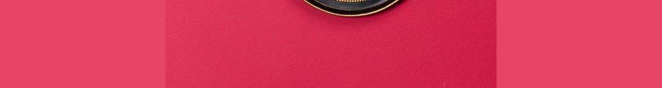 Materialbeschreibung Kleiner Hohlspiegel Brassy