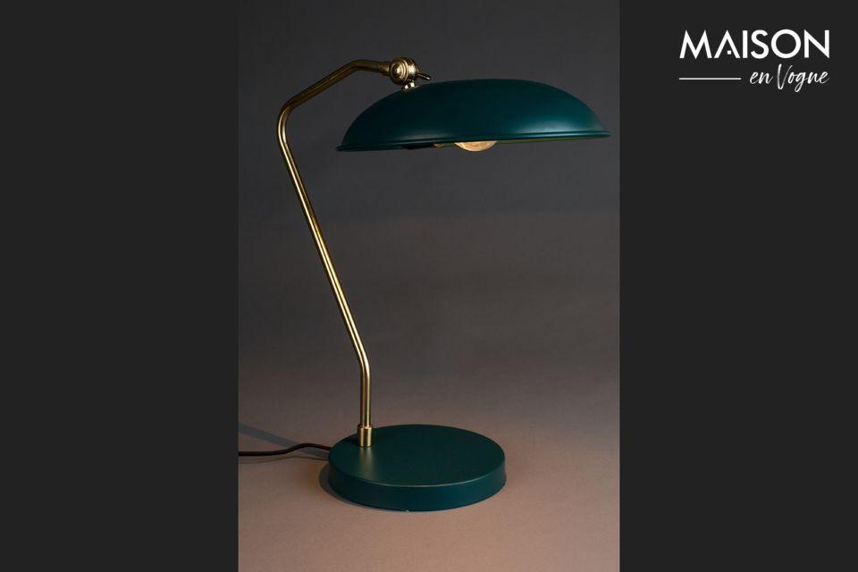 Liam blaue Schreibtischlampe - 4