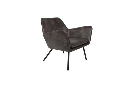 Lounge-Sessel Bon dunkelgrau ohne jede Grenze