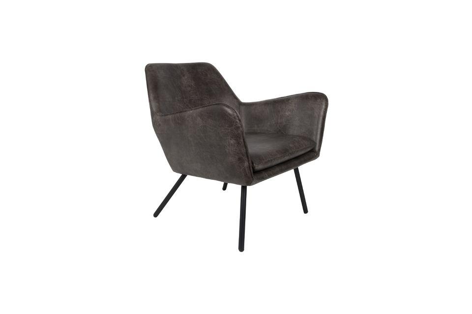 Lounge-Sessel Bon dunkelgrau - 6
