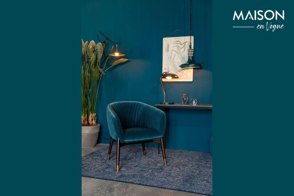 Lounge-Sessel Dolly blau Dutch Bone