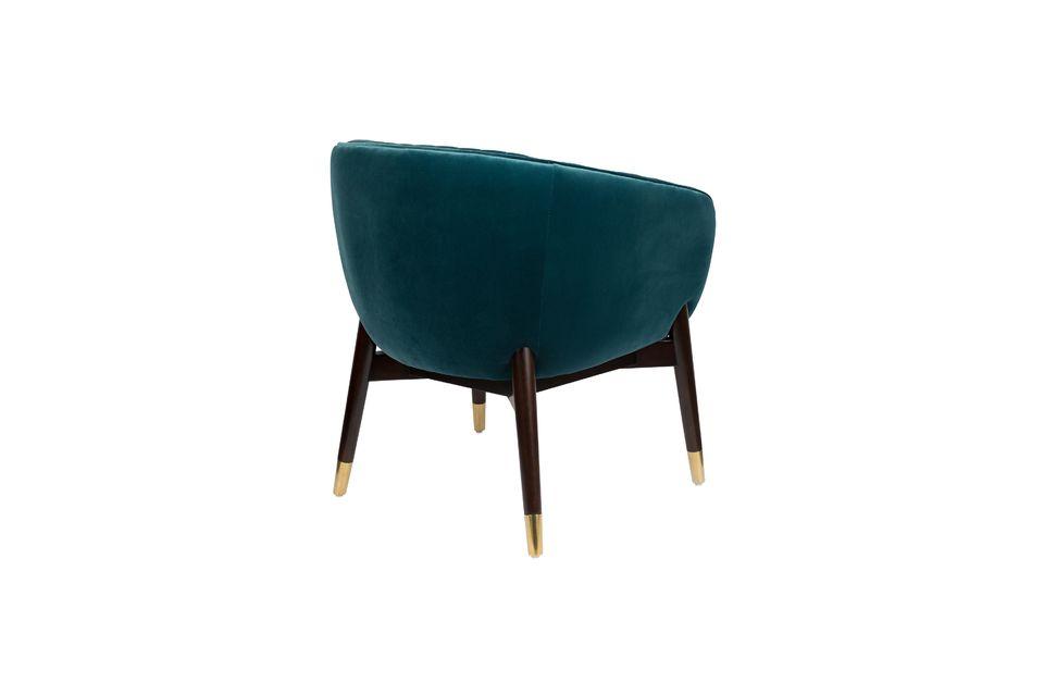 Lounge-Sessel Dolly blau - 7