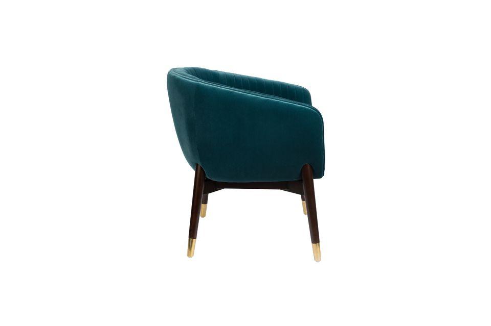 Lounge-Sessel Dolly blau - 8