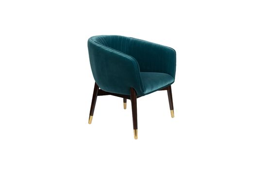 Lounge-Sessel Dolly blau ohne jede Grenze