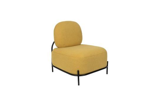 Lounge-Sessel Polly gelb