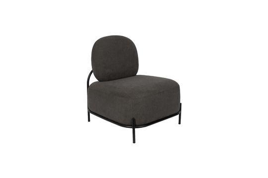 Lounge-Sessel Polly grau