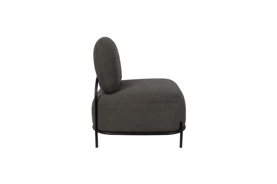 Lounge-Sessel Polly grau - 5