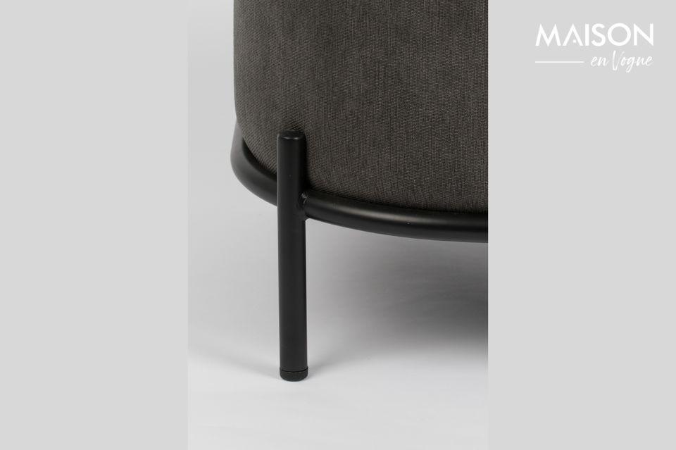 Der gut gepolsterte Sitz und die Rückenlehne garantieren einen hohen Komfort
