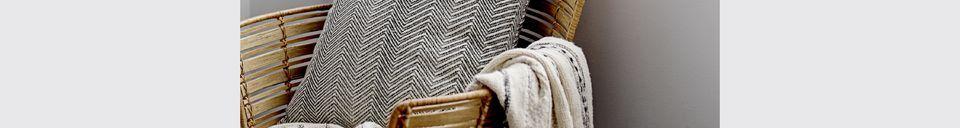 Materialbeschreibung Lounge-Stuhl Coast Rattan
