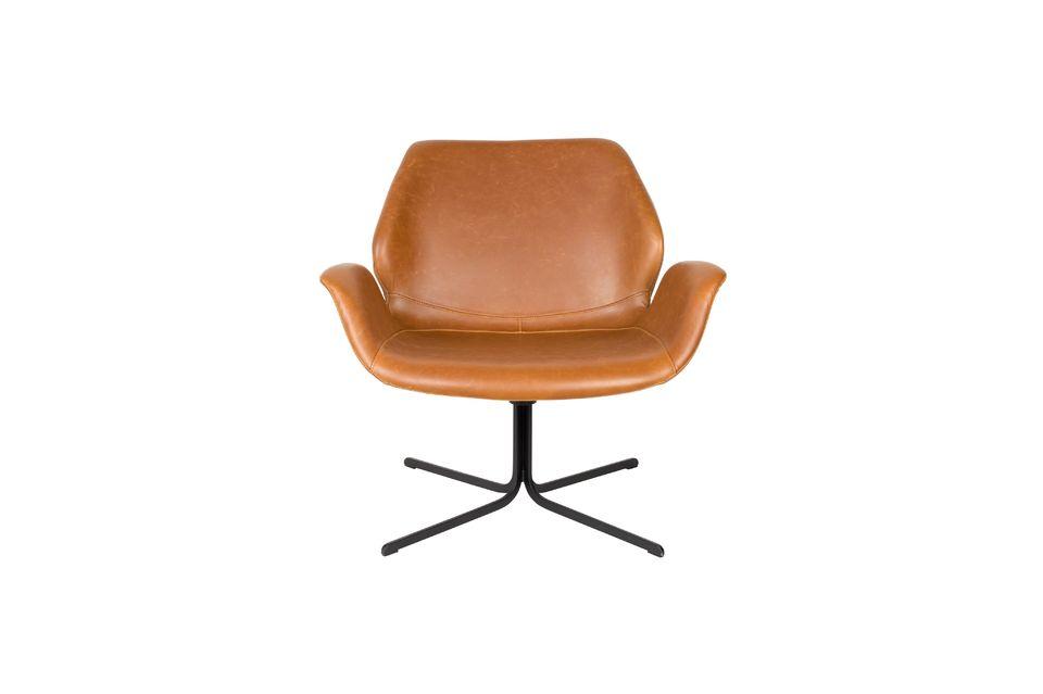 Lounge-Stuhl Nikki braun - 10