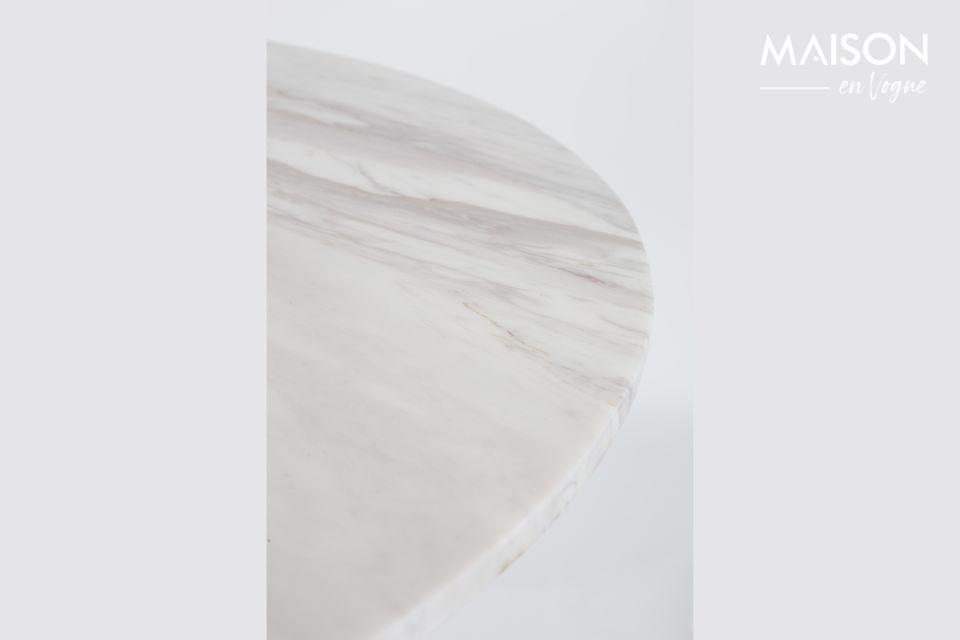 Marble King Tisch 90' schwarz - 9