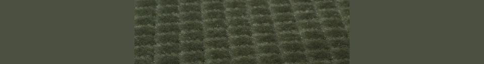 Materialbeschreibung Melonie grüner Stuhl
