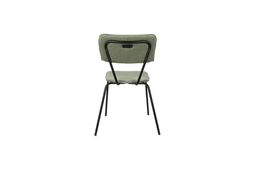 Vintage-Design und Komfort, ideal um einen Tisch herum