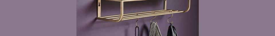 Materialbeschreibung Metall-Regal Peri