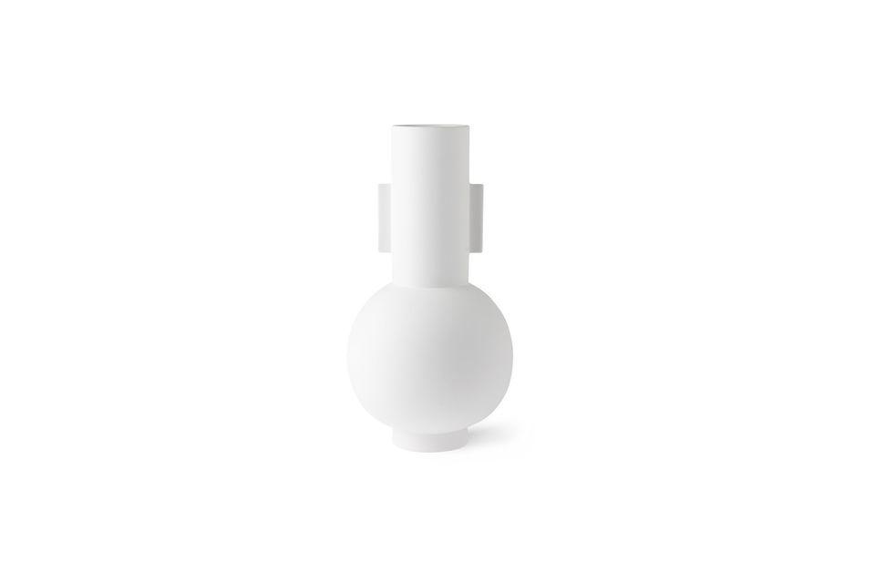 Nesploy Vase mattweiß Größe L HK Living