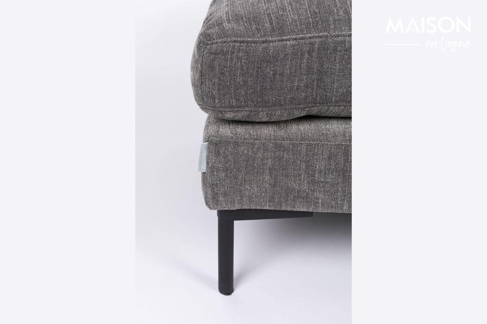 Sein Komfort ist ideal zum Ausruhen müder Füße oder als Sitzerhöhung
