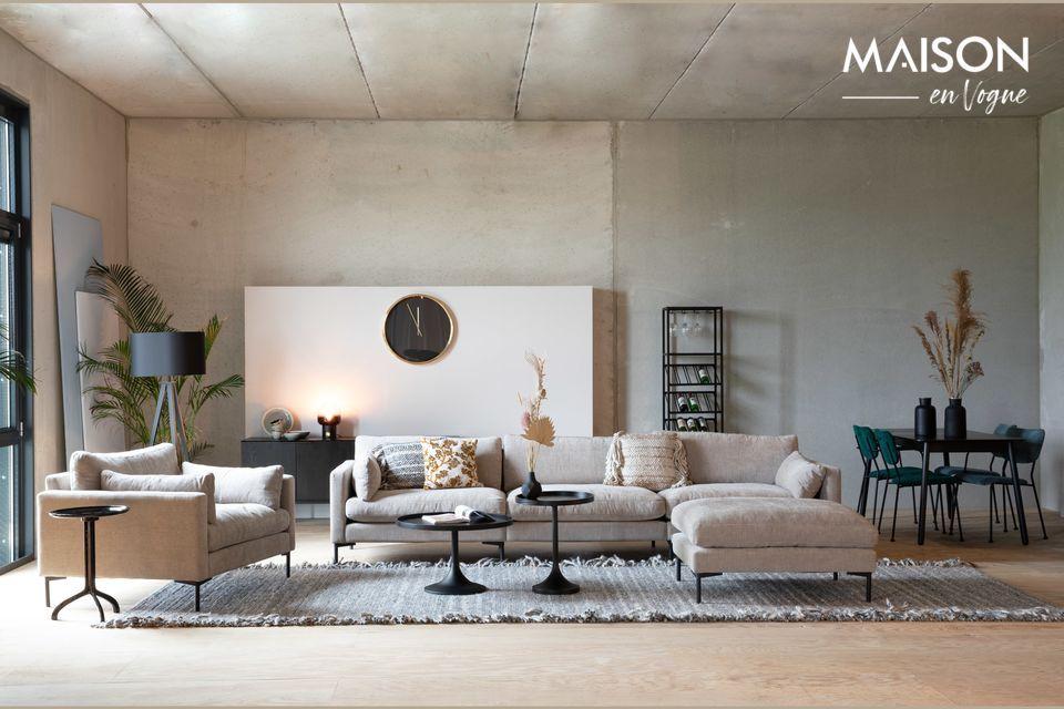 Der Design-Fußschemel der Linie Summer kann an jeden Raum angepasst werden